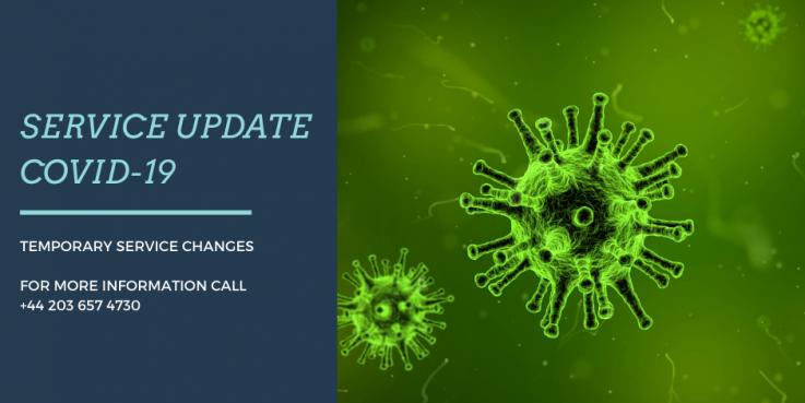 Service Update - COVID-19